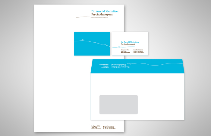 Dr. Mettnitzer / Corporate Design