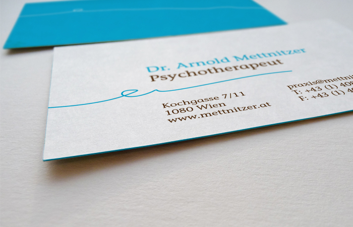 Dr. Mettnitzer / Corporate Design