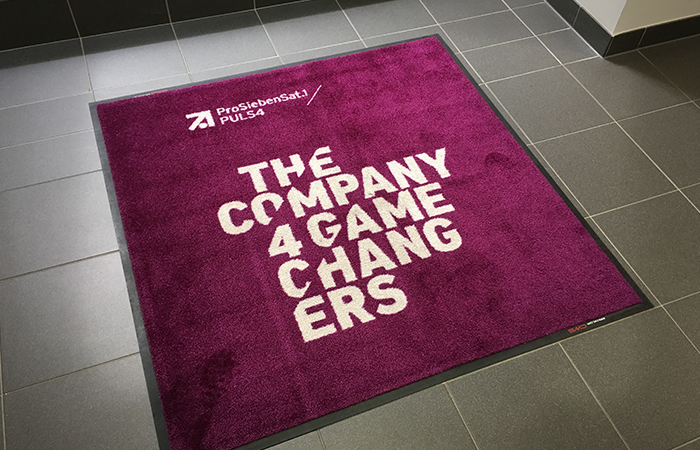 Branding / Teppich indoor / The Company 4 Gamechangers