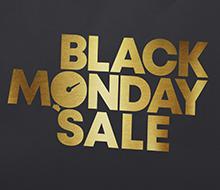 Black Monday Sale // Logo & Sendungsverpackung